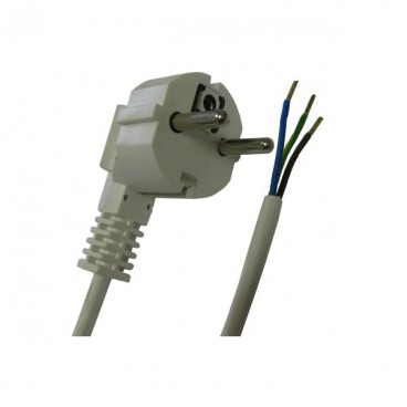 Electric wire with plug 4m 3x1,5kwd