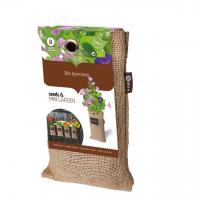 Baza Seeds & Mini Garden Hang Jute kweekzak Pompoen