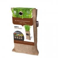 Baza Seeds & Mini Garden Hang Jute kweekzak Bieslook