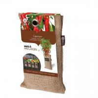 Baza Seeds & Mini Garden Hang Jute kweekzak Pepertjes