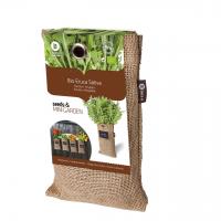 Baza Seeds & Mini Garden Hang Jute kweekzak Rucola