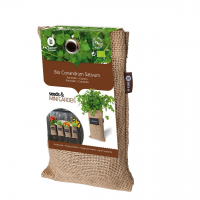 Baza Seeds & Mini Garden Hang Culture Bag Coriander