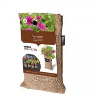 Baza Seeds & Mini Garden Hang Jute kweekzak Petunia