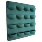 Flowall list t.b.v Flowall 16 compartments darkgreen
