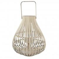 Lantern L Pear nature (pine)