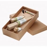 Set houten planten labels, incl. stift - FSC 100%