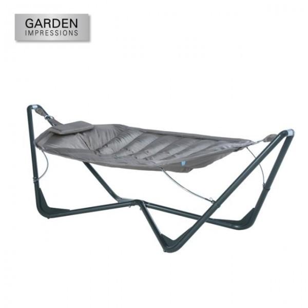 Garden Impressions Hangmat Tubular Met Standaard.Hangmat Taupe Garden Impressions Tuincentrum Holland