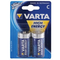 Varta High Energy C 2-Pack