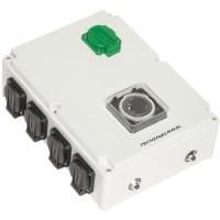 Davin Schakelkast DV-28K 8x 600watt met kachelcontact