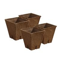 Jiffy -Pot vierkant 8x8 cm