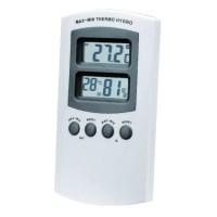 Hygro-Thermometer Digitaal Mini-Max temperatuur en luchtvochtigheid aanduiding