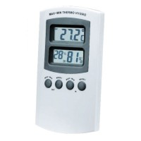 Hygro-Thermometer Digital Mini-Maxi temperature indication