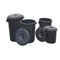 Water Barrel with lid 120ltr