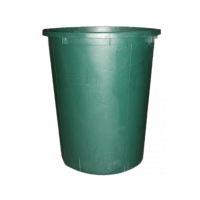 Water Barrel 500ltr round incl. lid