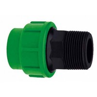 PE Adaptor 25mm outside thread