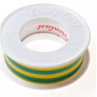 Coroplast insolation tape 15mm green 4.5 meter