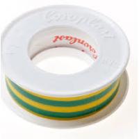 Coroplast isolatietape 15mm groen/geel 4.5 meter
