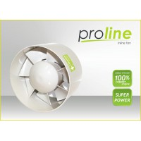 Proline Inline fan 125mm