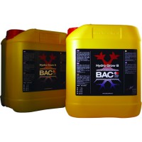 B.A.C. Hydro Nutrients A&B Grow 5ltr.