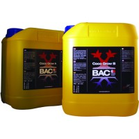 B.A.C. Coco Nutrients A&B Grow 5ltr.