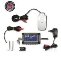 SMScom alarm incl. bewegingsmelder, magneetcontact en adapter