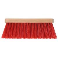 Bezem rood TT 28 cm