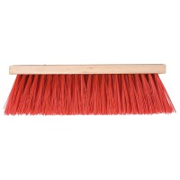 Broom red TT 28 cm