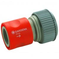 """Gardena Prof System overgangsstuk met waterstop 19 mm (3/4"""")"""