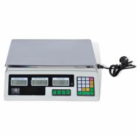 Digitale weegschaal tot 30 kg met ingebouwde batterij