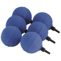 Aquaking air stone round 3cm blue