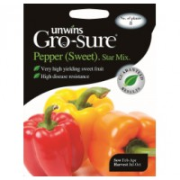 Gro-sure Chilli Zaden Star Mix (Paprika)