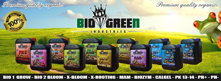 Bio Green Plant Nutrients - 100% Biological plant nutrients from Bio Green